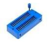 Patice DIP ZIF 28 PIN 7,62/15,24mm rozebíratelná -25-70°C