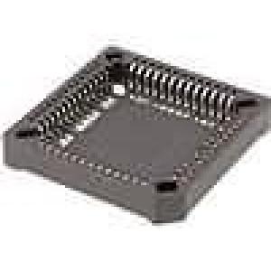 Patice PLCC PIN:52 fosforový bronz pocínovaný 1A SMT