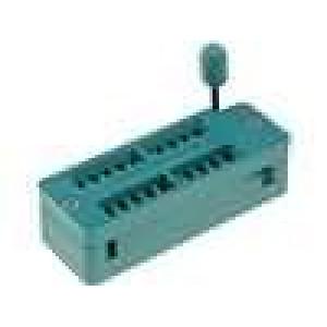 Patice DIP ZIF 20 PIN 7,62mm zlacený rozebíratelná -55-150°C