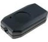Kryt pro dálkový ovladač X:38mm Y:65mm Z:16mm ABS černá
