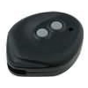 Kryt pro dálkový ovladač X:42mm Y:53mm Z:13mm ABS černá