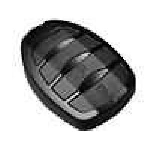 Kryt pro dálkový ovladač X:35mm Y:50mm Z:13mm ABS černá