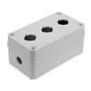 Kryt pro dálkový ovladač X:80mm Y:140mm Z:65mm ABS šedá