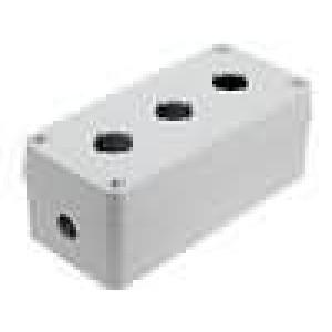 Kryt pro dálkový ovladač X:80mm Y:170mm Z:65mm ABS šedá