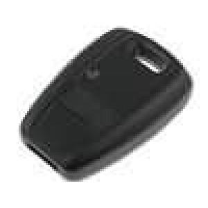 Kryt pro dálkový ovladač plast černá Fiat MINITOOLS