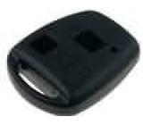 Kryt pro dálkový ovladač plast černá Toyota MINITOOLS