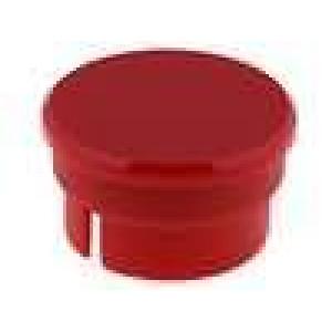 Víčko polyamid červená 15mm -20-70°C pro G15