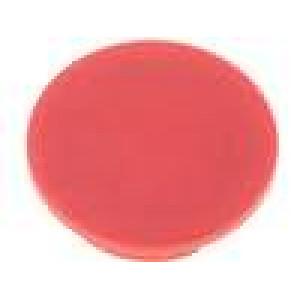 Víčko plast červená zatlačované pro G4310.6131