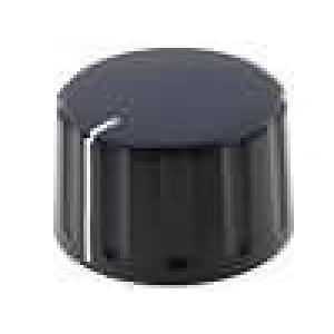 Knoflík kónická, s ukazatelem ABS pro hřídel 6mm Ø28,5x17,1mm