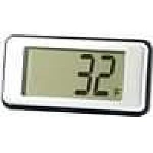 Panelové měřidlo LCD digit 12,5 mm -10-.220°C 21,4x43,5x7mm
