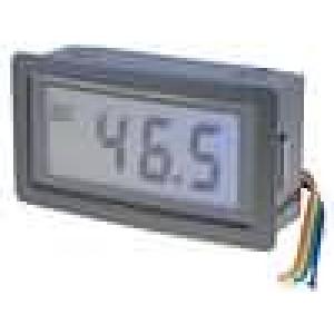 Panelové měřidlo LCD 3,5místný (1999) V DC:0-20V 10mVDC