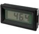 Panelové měřidlo LCD 3,5místný 13 mm V DC:0-200mV 36x72x13mm
