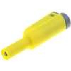 Zástrčka banánek 4mm 36A   56mm 2,5mm2 1kV