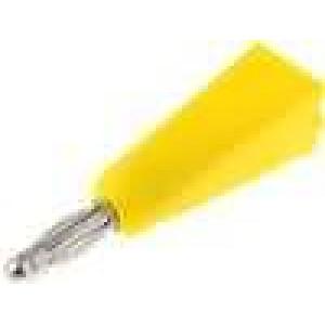 Zástrčka banánek 2mm Jmen.proud:5A   Připojení pájení