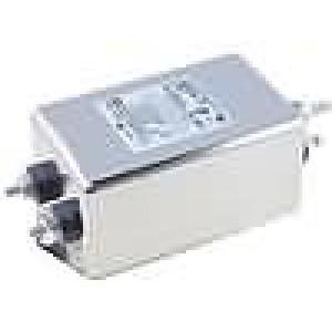 Filtr odrušovací 250VAC Iprac.max:15A Ir:1,52mA Poč.pólů:2