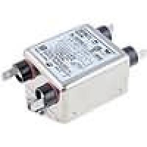 Filtr odrušovací 250VAC Iprac.max:3A Ir:0,43mA Poč.pólů:2