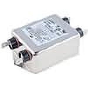 Filtr odrušovací 250VAC Iprac.max:6A Ir:0,43mA Poč.pólů:2