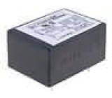 Filtr odrušovací 250VAC Cx:100nF Cy:3,3nF 1,8mH montáž THT