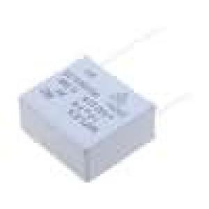 Filtr RC 275VAC 100Ω montáž THT Rozm.těl:32x28x15mm