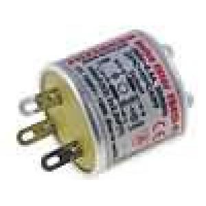 Filtr odrušovací síťový 4mH Cx:100nF Cy:2,2nF Iprac.max:0,5A