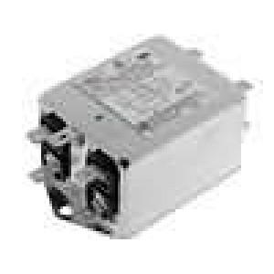 Filtr odrušovací třífázový 440VAC 10A Cx:100nF Cy:15nF 60Hz