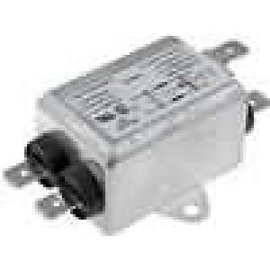 Filtr odrušovací 250VAC 1mH Cx:15nF Cy:2,2nF 6,5A -25-85°C