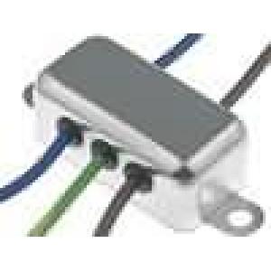 Filtr odrušovací 250VAC 1,8mH Cx:100nF Cy:3,3nF Iprac.max:3A