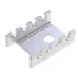 Chladič lisovaný U TO202,TO220 L:19,05mm W:13,21mm H:6,35mm