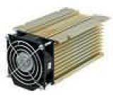 Chladič lisovaný Y pro třífázová relé zlatá L:150mm W:100mm
