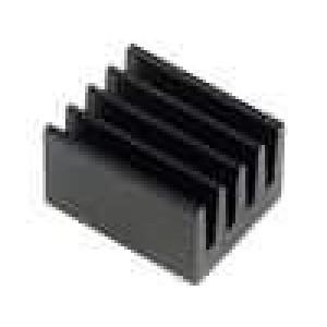 Chladič lisovaný černá L:10mm W:8mm H:6mm 71K/W hliník