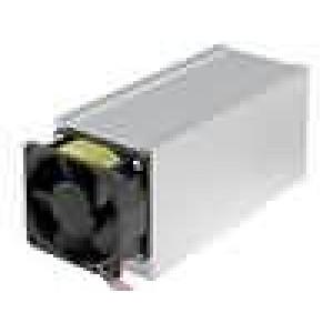 Chladič lisovaný L:150mm W:62mm H:74mm 0,175K/W hliník 12VDC