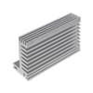 Chladič lisovaný TO220 přírodní L:84mm W:55mm H:31mm 5K/W