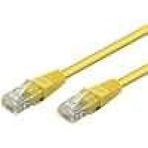 Síťový kabel U/UTP 5e propojení 1:1 licna Cu PVC   1m