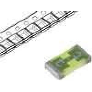 Pojistka tavná rychlá sklěněná 800mA 32VAC 63VDC SMD USI