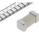 Pojistka tavná zpožděná keramická 2A 125VAC 125VDC SMD mosaz