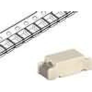 Pojistka tavná zpožděná keramická 1,25A 250VAC 250VDC SMD