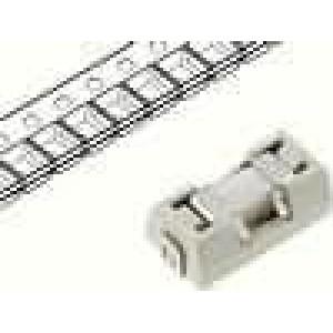 Pojistka tavná zpožděná keramická 2A 125VAC 125VDC SMD