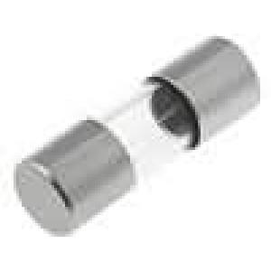 Pojistka tavná rychlá sklěněná 0,5A 250VAC 5x15mm