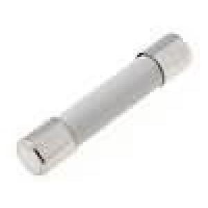 Pojistka tavná velmi rychlá keramická 6,3A 500VAC 6,3x32mm