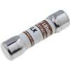 Pojistka tavná rychlá keramická, průmyslová 125mA 600VAC