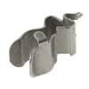 Montážní držáky trubičkové pojistky do PCB 5x20mm 6,3A