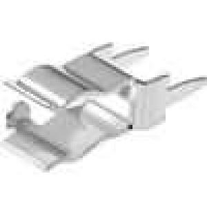 Montážní držáky trubičkové pojistky 5mm