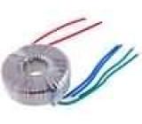 Transformátor toroidní 100VA 230VAC 10V 10V 5A 5A 1,1kg IP00