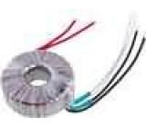 Transformátor toroidní 100VA 230VAC 12V 12V 4,16A 4,16A IP00