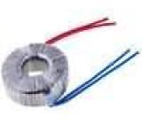 Transformátor toroidní 120VA 230VAC 24V 5A 1,3kg s vodičem