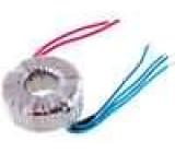 Transformátor toroidní 60VA 230VAC 12V 12V 2,5A 2,5A 0,8kg