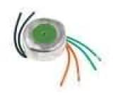 Transformátor toroidní 10VA 230VAC 8V 1,25A 0,2kg s vodičem