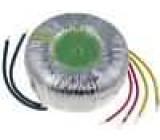Transformátor toroidní 200VA 230VAC 24V 8,33A 2,1kg Ø:112mm