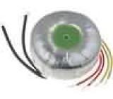 Transformátor toroidní 80VA 230VAC 24V 3,33A 0,93kg Ø:87mm