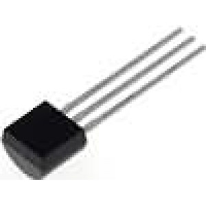 Tranzistor bipolární PNP 65V 100mA 500mW TO92